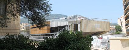 cmo - maison de quartier - Ajaccio - chantier